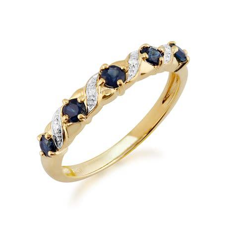Yellow Saphire Golden 9 55ct 9ct yellow gold 0 55ct sapphire half