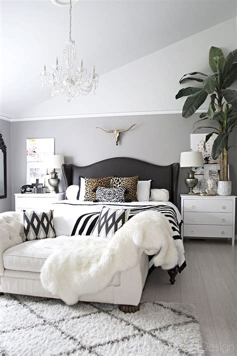 Glam Bedroom Tour Neutral Eclectic Home Tour Chandeliers Bedrooms And