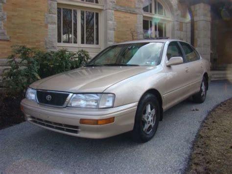 1997 Toyota Avalon Xls Purchase Used 1997 Toyota Avalon Sedan Xls Leather Sunroof