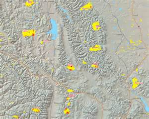 Montana Fire Map by Montana Fires Quiet Despite Red Flag Conditions New West