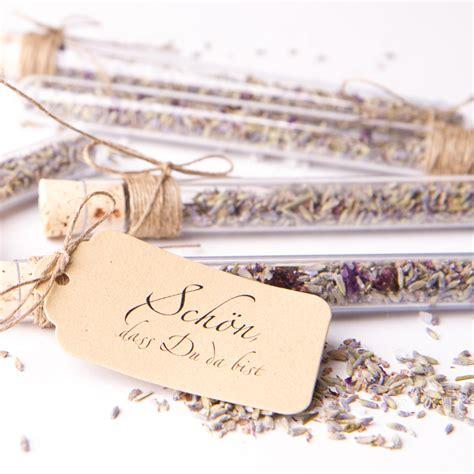 Besondere Hochzeit by Fertige Gastgeschenke Quot Natur Lavendel Quot Im Reagenzglas