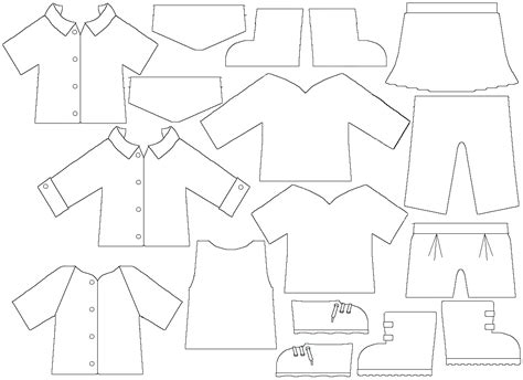 clothing templates pin by joanne elder on miniature infant and childrens