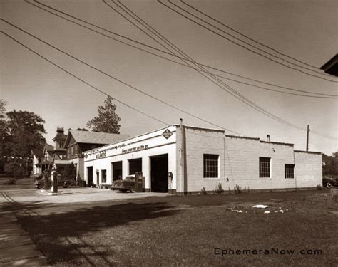 Fairport Garage by Plan59 Historical Photos 1958 Gas Station In
