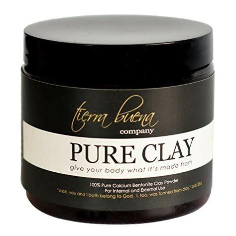 Premium Detox Wraps by Clay Premium Calcium Bentonite Clay Food Grade