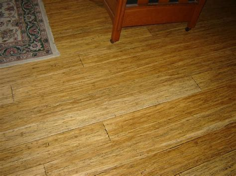 click together floating bamboo flooring