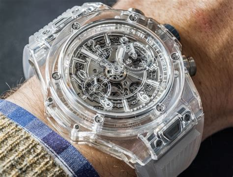 Hublot Transparan hublot big unico sapphire on ablogtowatch
