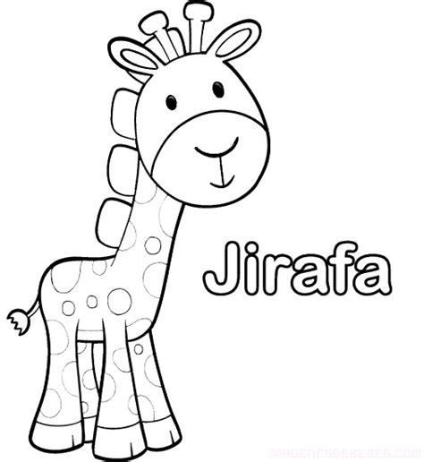 imagenes jirafas para colorear jirafas para colorear