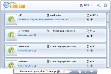 live chat room mobile live online flash chat room living room