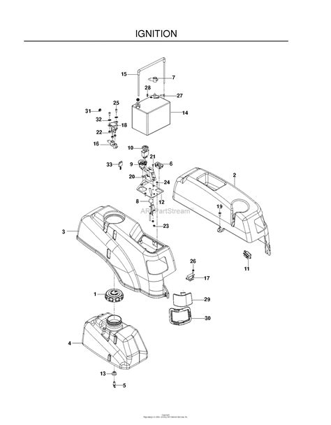 husqvarna rz4219f 966495701 2010 01 parts diagram for