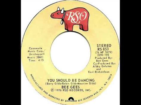 bee gees you should be dancing bee gees you should be dancing dj s bootleg remix
