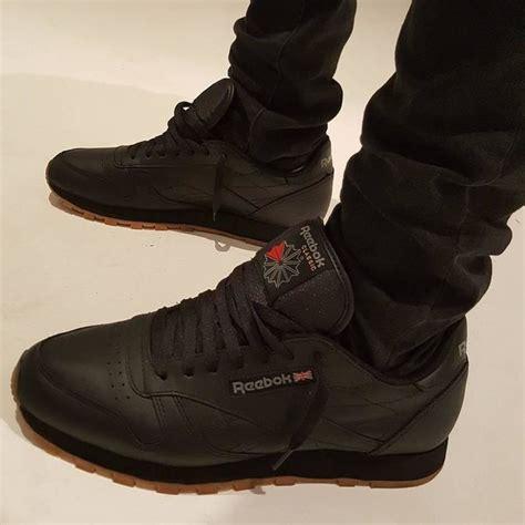 reebok classic leather black reebok gb