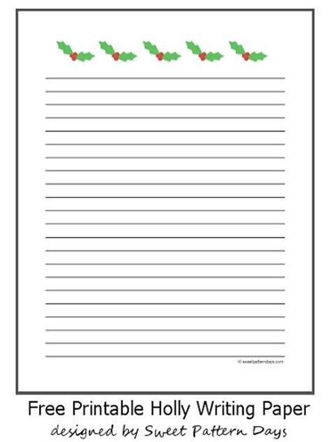 free printable gingerbread man writing paper 17 best images about christmas printables on pinterest