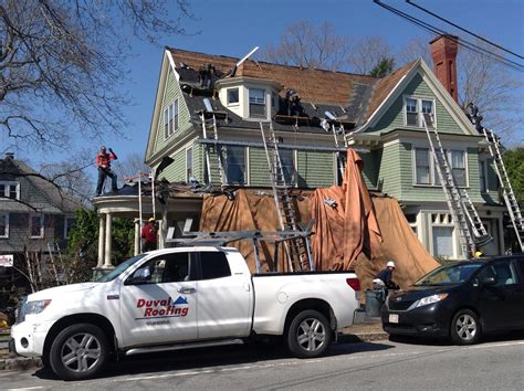 andover ma roof leak snow dam removal in reading andover duval roofing