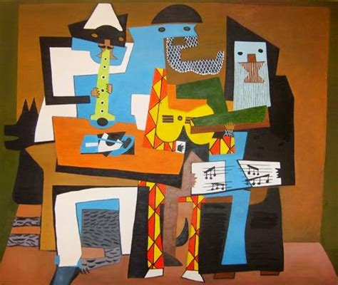 picasso paintings three musicians delacroix creations june 2011