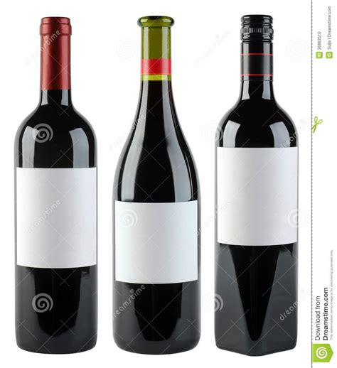 wine bottles template stock photo image 26863510