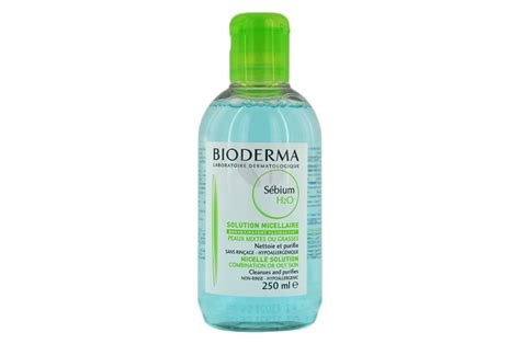 Bioderma Sebium H2o 250 Ml Original bioderma sebium h2o 250ml nettoyants et d 233 maquillants