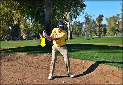 wrist action in golf swing greenside bunker wrist action grant brown golf