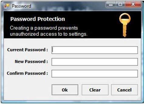 change password screen design developing a usb storage device protection tool with c codeproject