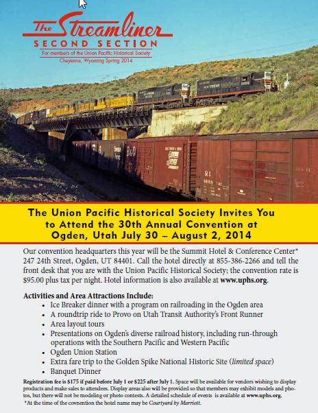 second section union pacific historical society page 2 dedicated to