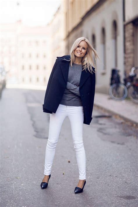 how to wear white in winter 2018 wardrobelooks