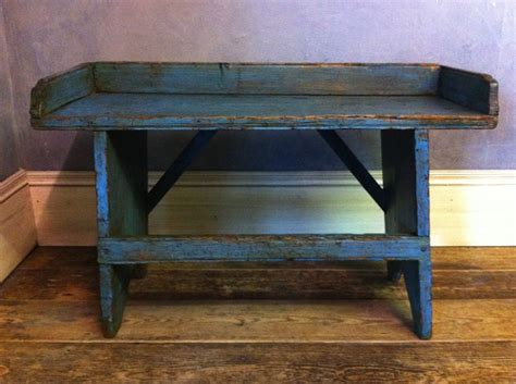 primitive bench 28 images 19th 19th century original blue painted stool lionheart interiors
