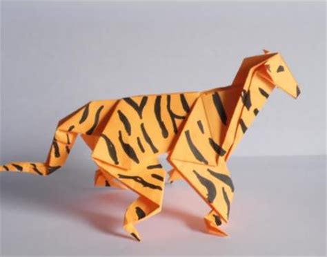 How To Make Origami Tiger - origami tiger