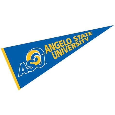 angelo state rams angelo state rams pennant your angelo state rams pennant
