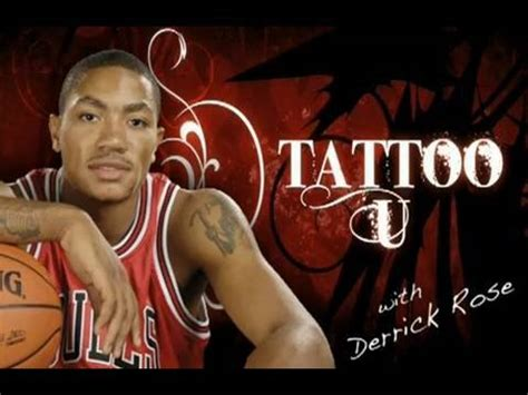 derrick rose tattoos 1988 derrick design inspiration tattoomagz