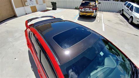 honda civic car wrap honda civic printed gloss carbon fiber vinyl wrap