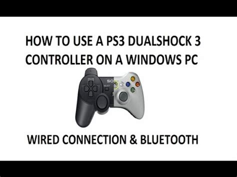 motioninjoy tutorial windows 10 how to easily connect ps3 controller to pc no motioninjoy
