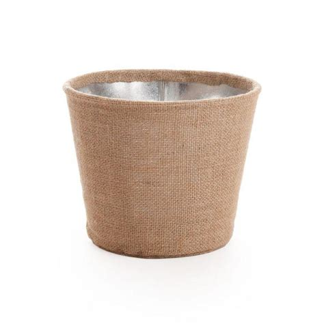 wholesale wedding galvanized buckets large burlap wrapped galvanized metal 424188