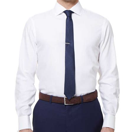Tie Cuff Shirt white herringbone cuff shirt ties bow ties