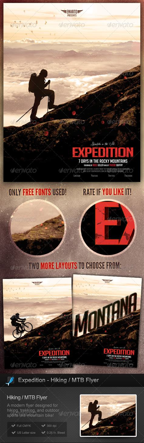 Free Outdoor Flyer Templates 187 Dondrup Com Outdoor Flyer Template
