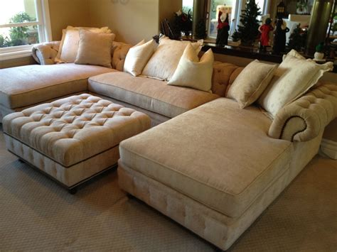 Sectional Sofa With Chaise And Ottoman Kenzie Chaise Sofa Chaise Sectional With Chaises Matching Ottoman Yelp