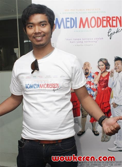 film komedi moderen foto dodit mulyanto hadir di media gathering film komedi