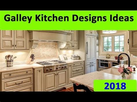 new galley kitchen designs ideas 2018