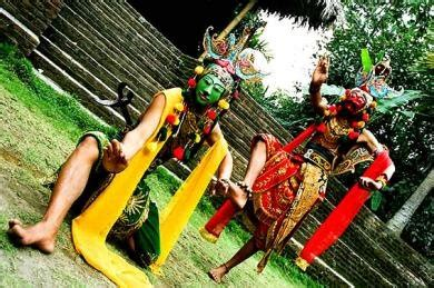 Topeng Tertawa Khas Bali T018 kesenian pemerintah kota malang pemerintah kota malang