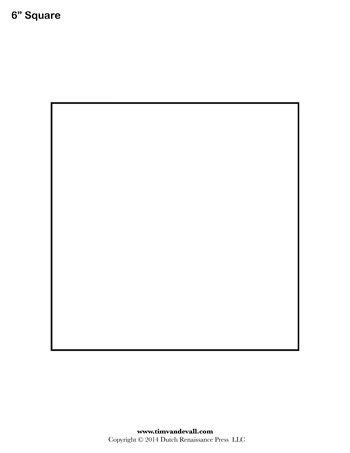 square templates 6 inch tim s printables