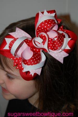 valentines hair bows knarserpapin valentines hair bows