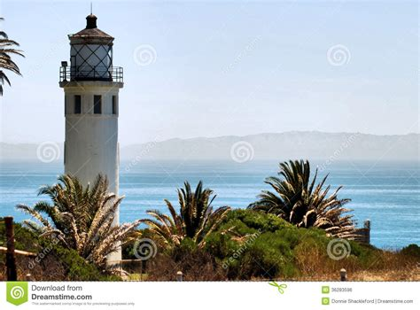 southern california light company vicente light stock photo image of safety palos clouds