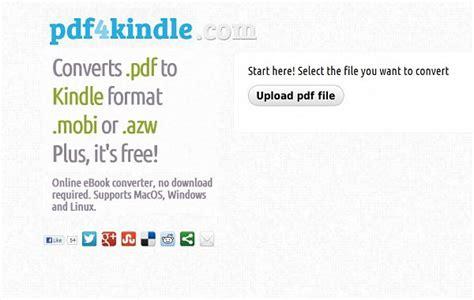 convertir pdf con imagenes a kindle pdf4kindle herramienta para convertir archivos pdf para