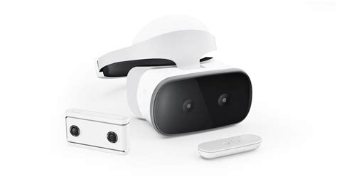 Get lost in a mirage with the wireless Lenovo Mirage Solo VR headset and Mirage Camera
