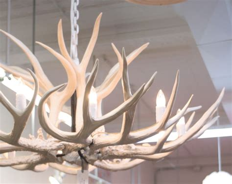 Faux White Antler Chandelier White Faux Antler Chandelier Dining Room