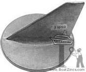 pontoon boat zincs remove alpha one zinc because of new prop pontoon boat