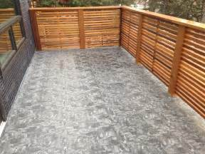 vinyl deck vinyl decking peakline construction ltd