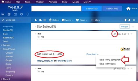 email yahoo open how to open an email attachment yahoo mail