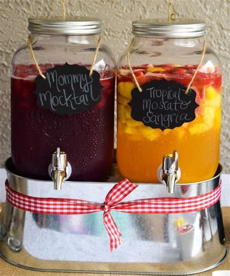 Cocktails For Baby Shower by Best 25 Baby Shower Drinks Ideas On