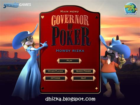 governor of poker 2 full version key governor of poker free download software games