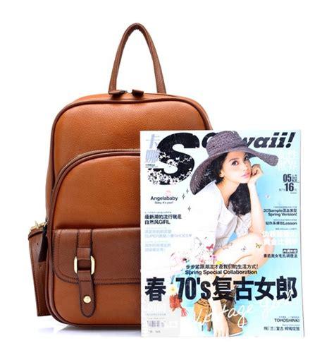 Tas Wanita Ransel Model Import Kombinasi tas ransel wanita kulit import model terbaru jual murah import kerja