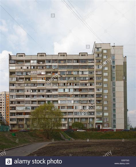 Germany Recycling Communist Housing Blocks Soviet Era Apartment Blocks In The Suburbs Of Moscow Stock Photo Royalty Free Image 105177984
